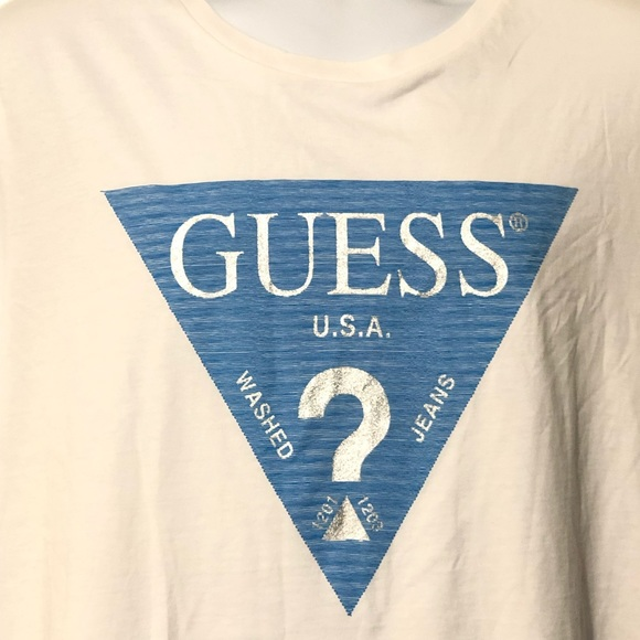 d0c472a9795f Guess Shirts | Jeans Usa La California Triangle Tshirt | Poshmark